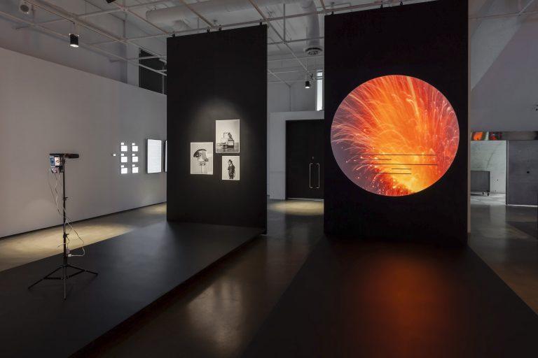 ÉCRAN TOTAL | TOTAL SCREEN, exhibition, UQAM Centre de design, 2021. Photograph © Michel Brunelle